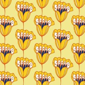 Blossom Stripe Yellows