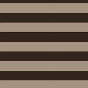 WIDE STRIPES brown 1