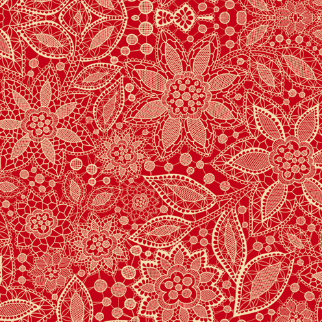 Lace_gift fabric by rositsakaragiozova on Spoonflower - custom fabric