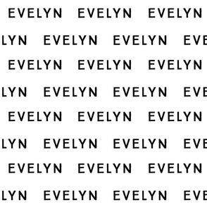 Evelyn Fabric