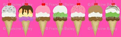 ice cream pink  med