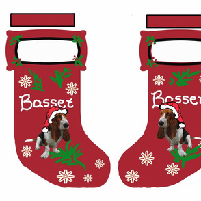 Basset_Hound_Christmas_Stocking