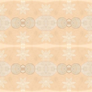 Pattern of Daisies & Medallions