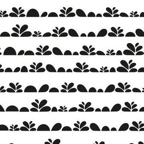 abstract botanic design