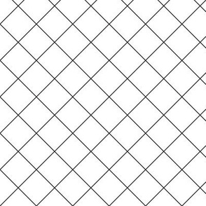 Diagonal Grid 1x1