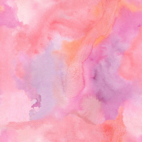 Pink is the limit, watercolor design