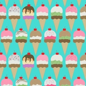 ice cream  tor  blue  interlock lg-ed