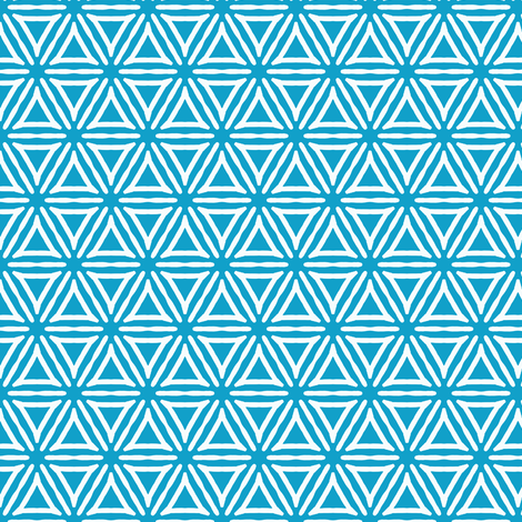 Triangles stacked with dashed lines fabric by jaylinn on Spoonflower - custom fabric