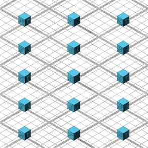 Totem Cubes Argyle - Water