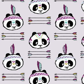 pandas w/ arrow stack (purple)