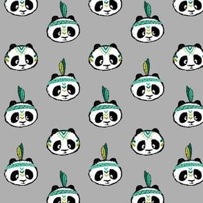 pandas (dark green) small scale || pandamonium