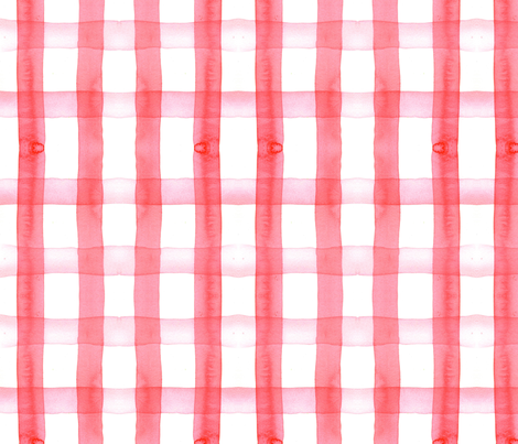 Picnic Blanket Red Gingham Fabric Erinanne Spoonflower Unique Picnic Blanket Pattern