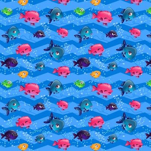Adorable fishes