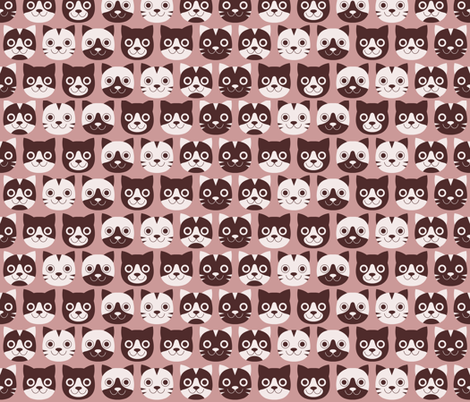 Gattini fabric by zabrattastudio on Spoonflower - custom fabric