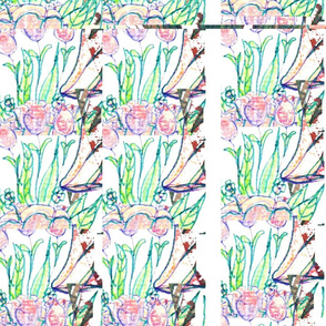 floral rows
