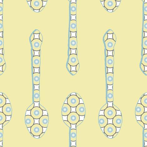 Spoon Stripes 2 fabric by anniedeb on Spoonflower - custom fabric