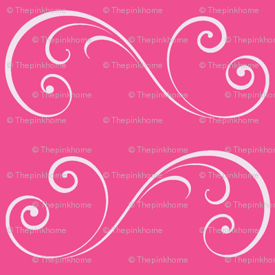 Flamingo Swirls