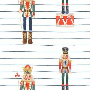 Nutcracker Toy Soldier Stripes