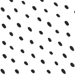 Seed Dots Black and White