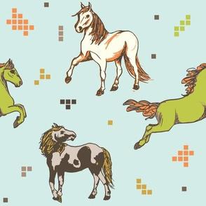 Chincoteague Mustangs