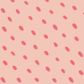 Seed Dots Peachy Coral