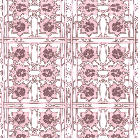 Living on the Grid fabric by edsel2084 on Spoonflower - custom fabric