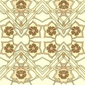 Sepia Flower Dance