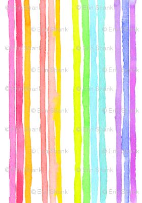 stripes rainbow