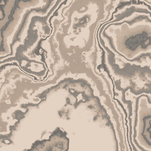 Beige Sand Marbled Effect
