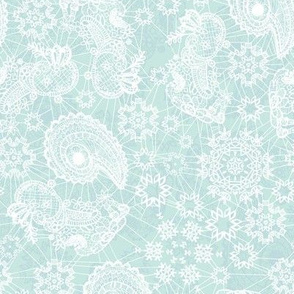 Lacy Snowflake Wrap