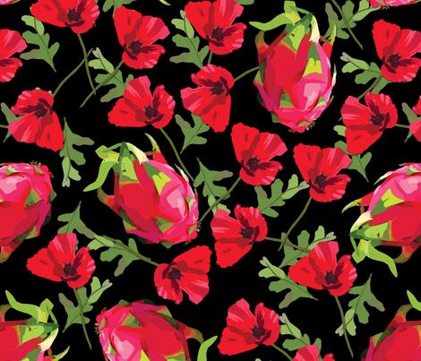 A Bit Of Heaven fabric by elviamontemayor on Spoonflower - custom fabric
