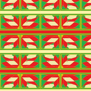 Poinsettia gift tags