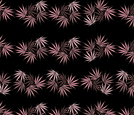 Saucy Sativa fabric by camomoto on Spoonflower - custom fabric