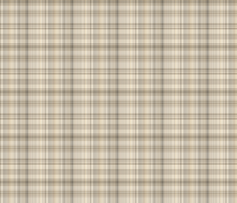 Beige Sand Plaid 2 fabric by gingezel on Spoonflower - custom fabric