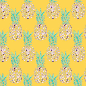 tropical pineapple