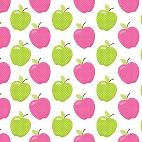 Apple Toss Pink & Lime