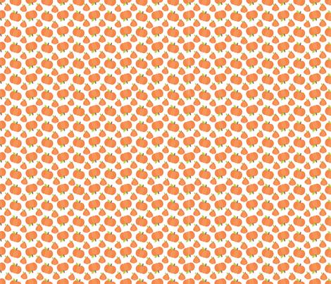 Pumpkin Toss fabric by snapdragonandfinn on Spoonflower - custom fabric