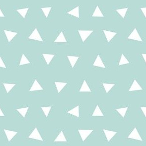 mint triangles, triangle, triangle fabrics baby nursery design coordinating fabric