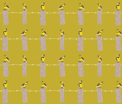 exaltation of larks 3  [yarrow] fabric by kheckart on Spoonflower - custom fabric