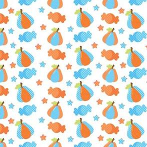 Pumpkins & Sweets Blue