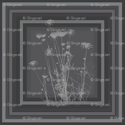 Charcoal Wildflowers