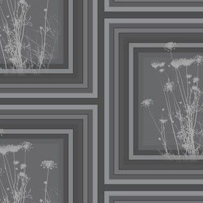 Charcoal Wildflowers