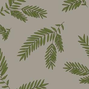 Pine Sprigs  Mushroom & Ivy