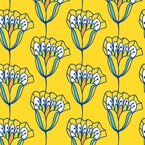 Blossom Stripe yellow