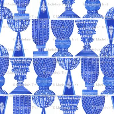 Blue Vase I Large