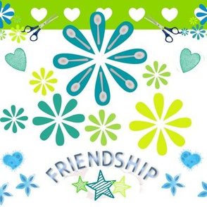 Spoonflower Friendships