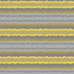 Yellow and Gray Crystallized Stripes
