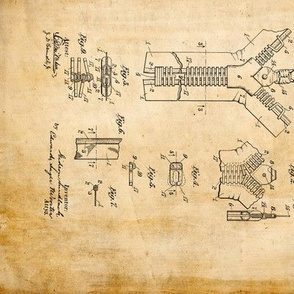 Patents on parchment