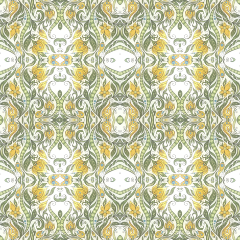 lemon lime II fabric by janbalaya on Spoonflower - custom fabric