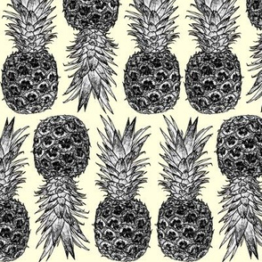 Little White Pineapples & Cream